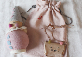 Little Cat Bag - With Pompons