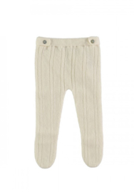 Normandie - Merino Wool Pants Creme