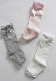 Cute Knee Socks With Bow