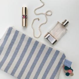 Étoffe Toiletrybags - Toiletbag Stripes & Charms