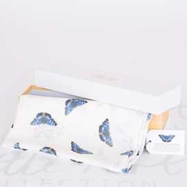 The Little Art Collection - Large Bamboo Swaddle Print: Butterfly