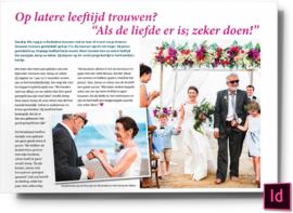 Op latere leeftijd trouwen