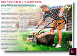 Hoe kies je de juiste grasmaaier