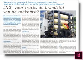 LNG voor trucks de brandstof van de toekomst