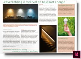 Ledverlichting is sfeervol én bespaart energie