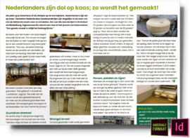 nederlanders zijn dol op kaas zo wordt het gemaakt