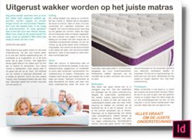 uitgerust wakker worden op het juiste matras