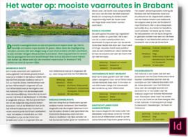 Het water op - mooiste vaarroutes in Brabant