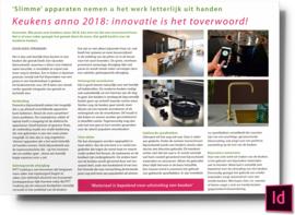 Keukens anno 2018 innovatie is het toverwoord