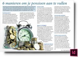 6 Manieren om je pensioen aan te vullen