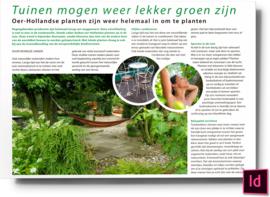 Tuinen mogen weer lekker groen zijn