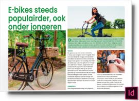 E-bikes steeds populairder