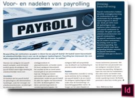 voor- en nadelen van payrolling