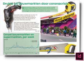 Drukte bij bouwmarkten door coronacrisis