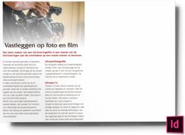 Vastlegen op foto en film