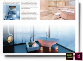Rust en ruimte in de badkamer