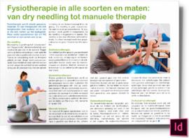 Fysiotherapie in alle soorten en maten