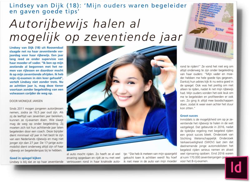 Autorijbewijs halen al mogelijk op zeventiende jaar