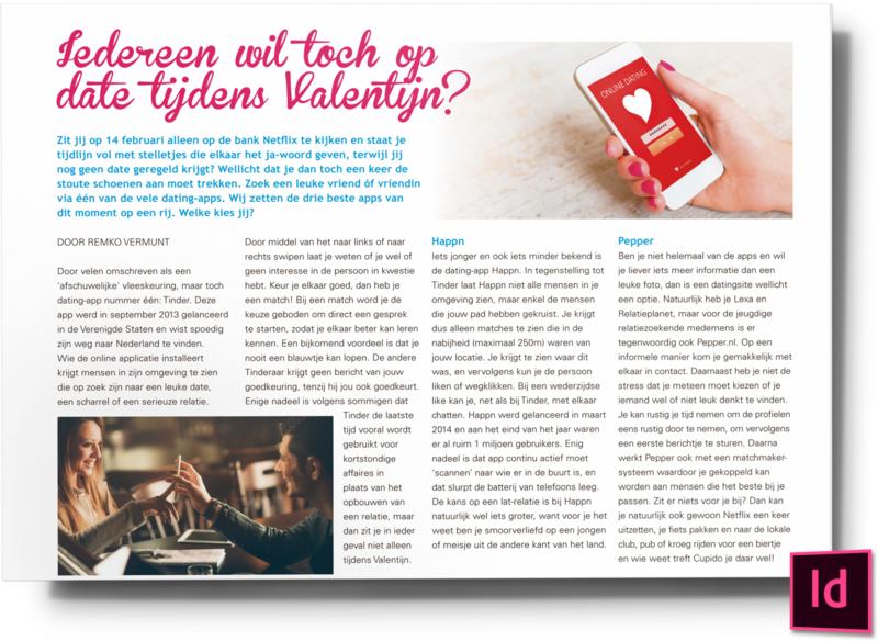 Iedereen wil toch op date tijdens valentijn