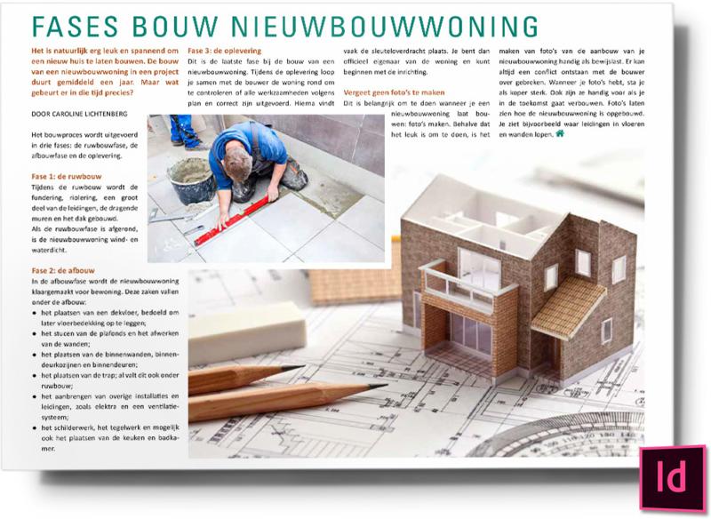 Fases bouw nieuwbouwwoning