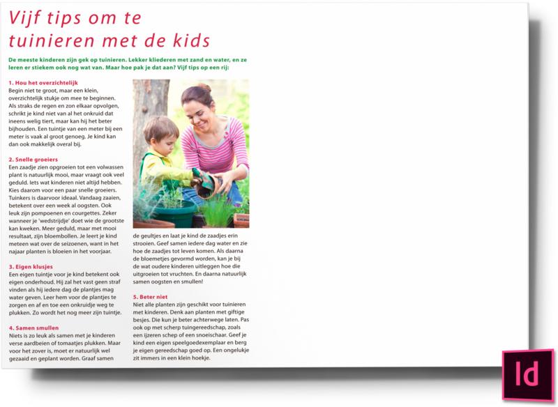 Vijf tips om te tuinieren met de kids