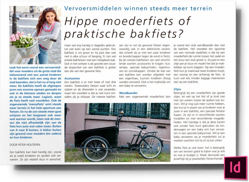 Hippe moederfiets of praktische bakfiets