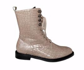 Beige coco boot