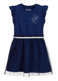 Blauw jurkje