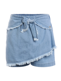 """Jeans short met """"rok""""effect"""