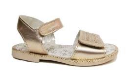 goud sandaal