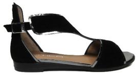 Zwart suede sandaal