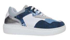 Blauw wit sneaker