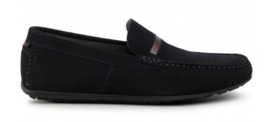 Donkerblauw loafer