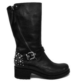 Zwart biker boot
