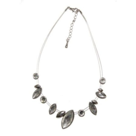 Ketting pierre grise