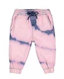 Blauwroze fusion colour broek