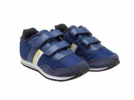 Blauw klitband sneaker