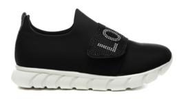 Zwart sneaker sparkling GUESS