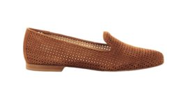 Cognac perfo loafer