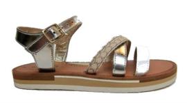 brons pyton sandaal