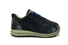 blauw camouflage sneaker