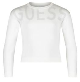 Witte trui met logo