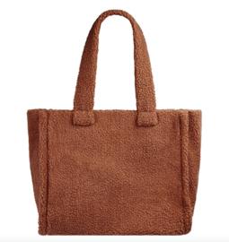 Shopper 'nounours' bruin
