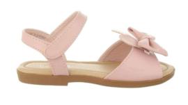 Zachtroze sandaal