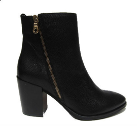 Zwart city western boot