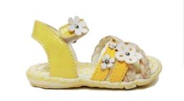 geel sandaal