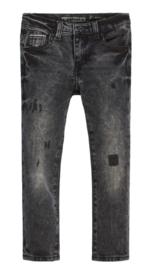 Zwart destroyed jeans