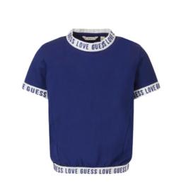 Blauw t-shirt logo
