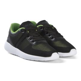 Zwart groen runner