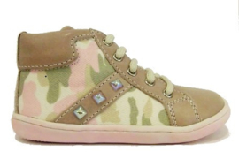 roze camouflage boot